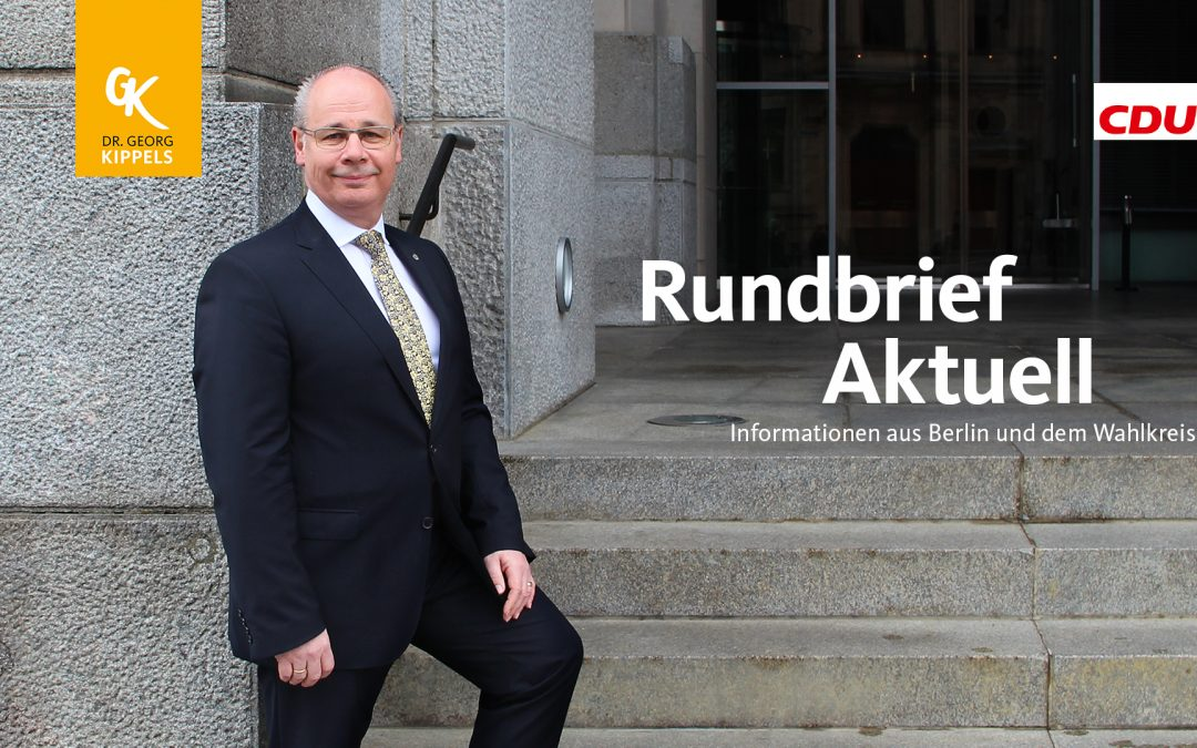 Rundbrief Aktuell 30/2019