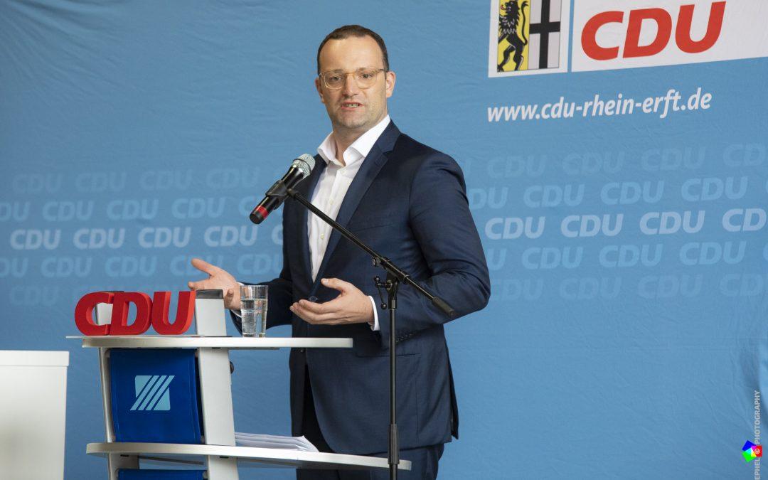 Zukunftsperspektive – Im Dialog mit Gesundheitsminister Spahn