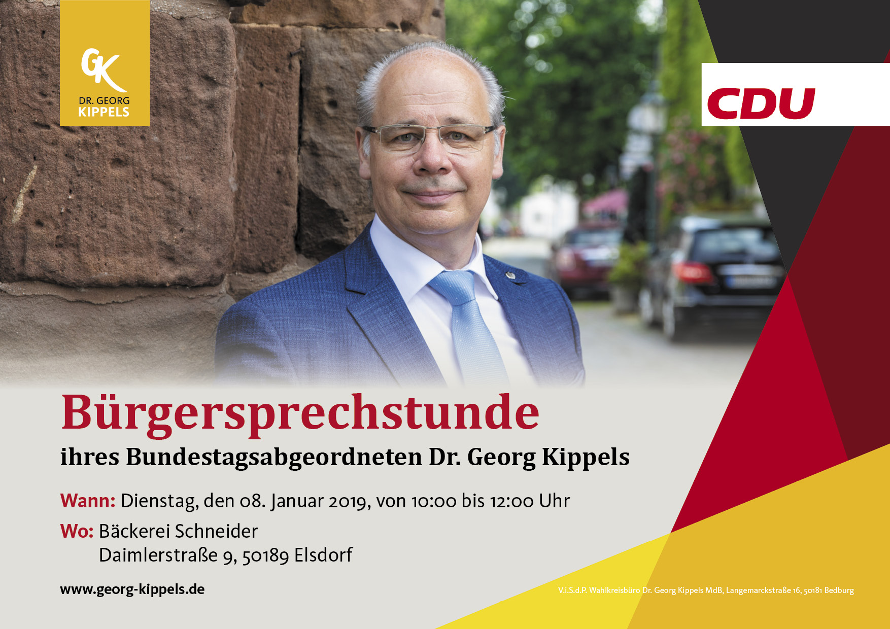 Bürgerspechstunde in Elsdorf