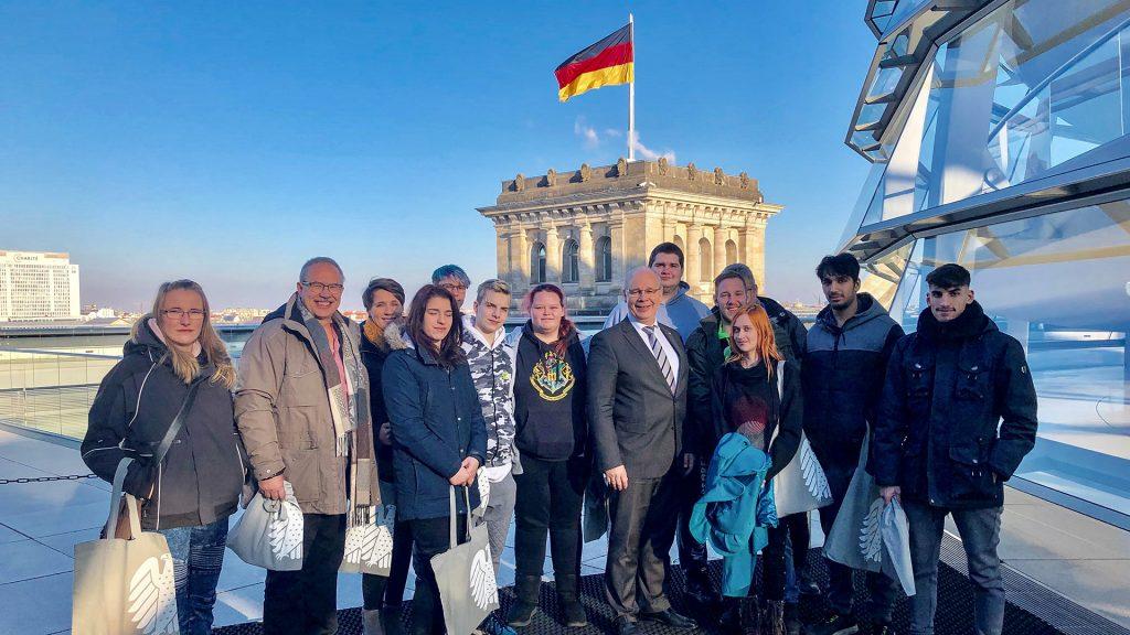 Besuchergruppe CJD-Frechen