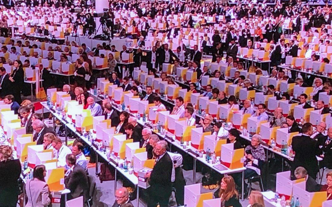 31. Bundesparteitag der CDU in Hamburg