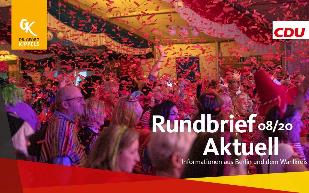 Rundbrief Aktuell 08/2020