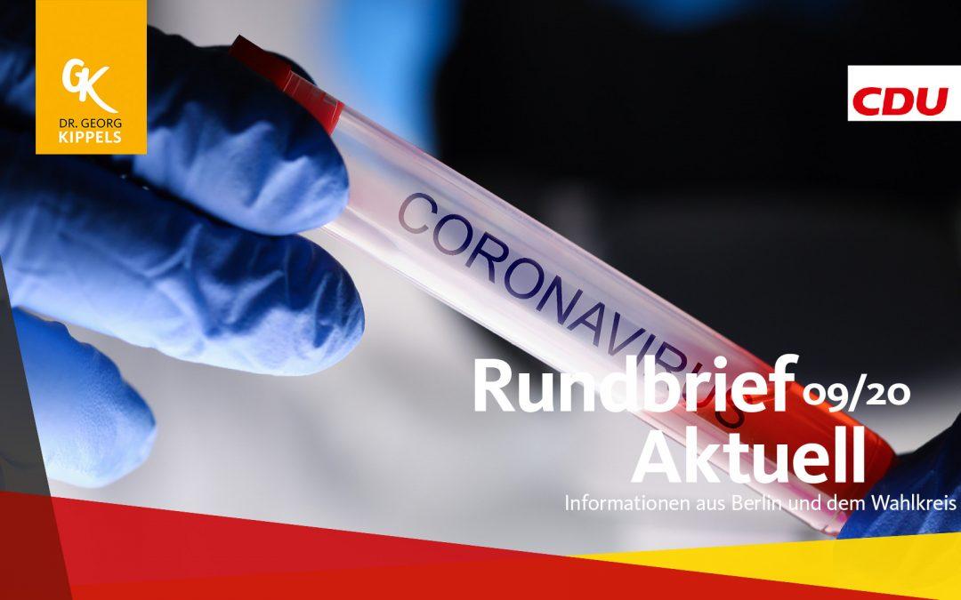 Rundbrief Aktuell 09/2020