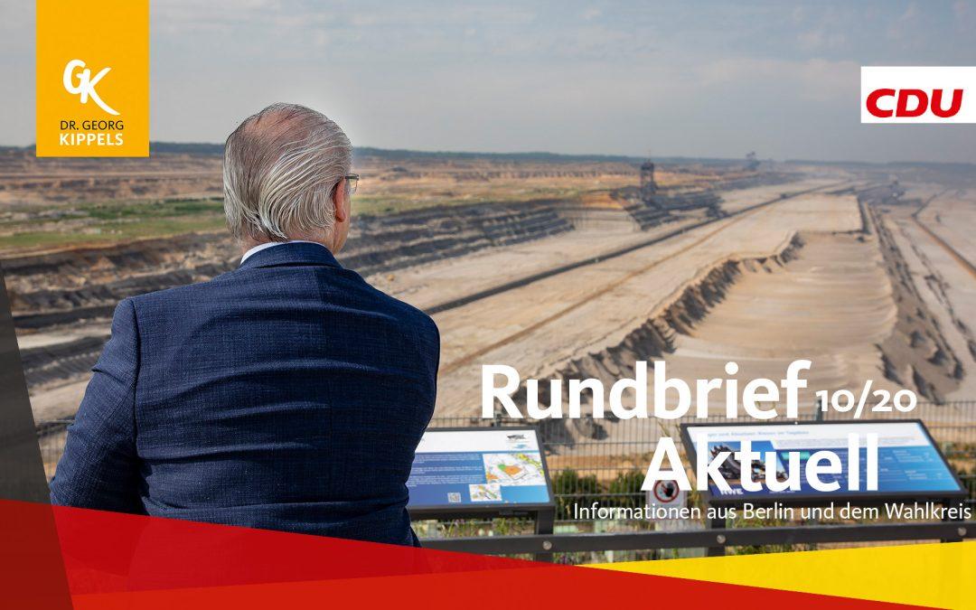 Rundbrief Aktuell 10/2020