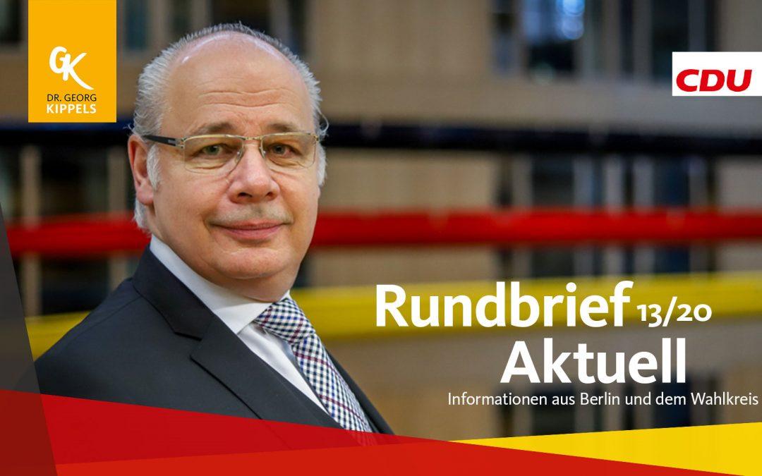 Rundbrief Aktuell 13/2020