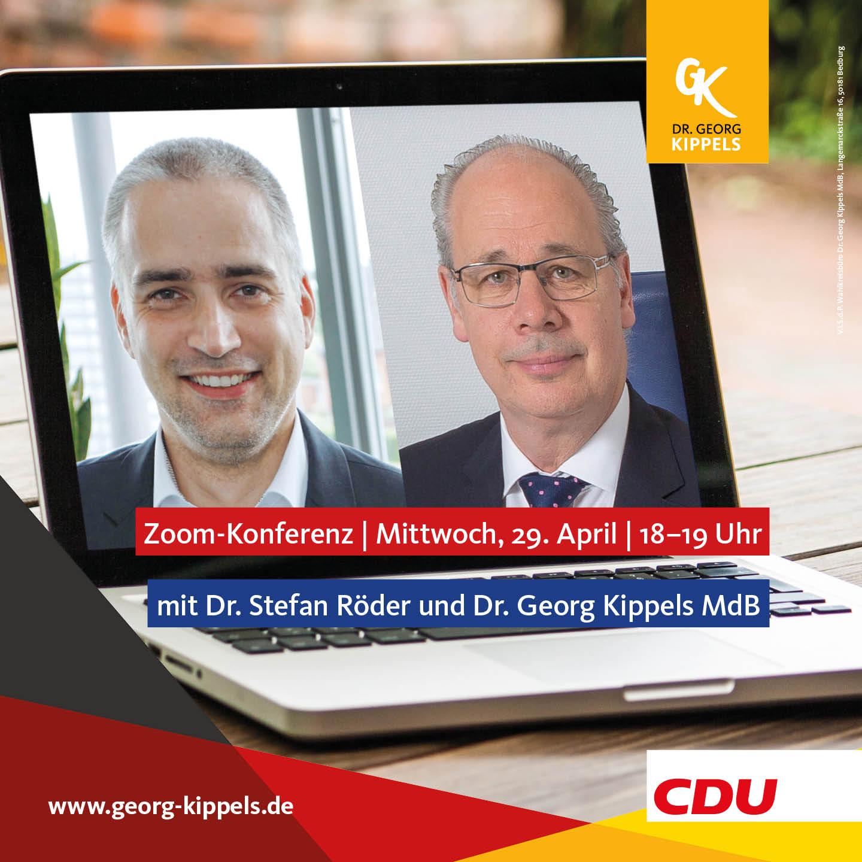 200429 ZOOM Dr. Stefan Röder + Dr. Georg Kippels