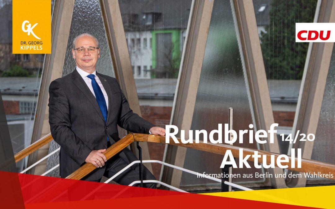 Rundbrief Aktuell 14/2020