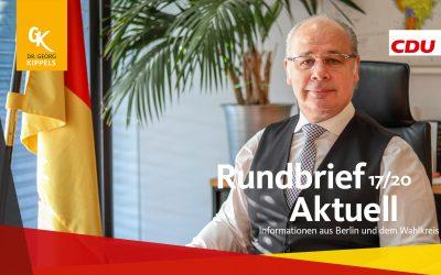Rundbrief Aktuell 17/2020