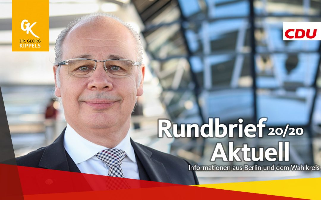 Rundbrief Aktuell 20/2020