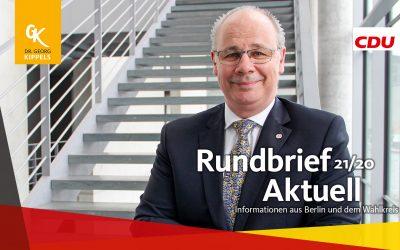 Rundbrief Aktuell 21/2020
