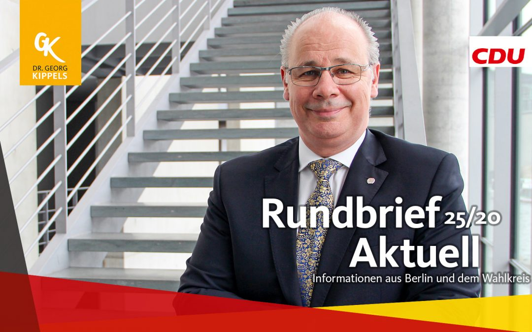 Rundbrief Aktuell 25/2020