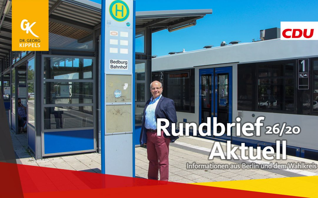Rundbrief Aktuell 26/2020