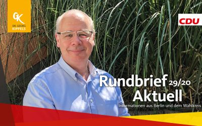 Rundbrief Aktuell 29/2020