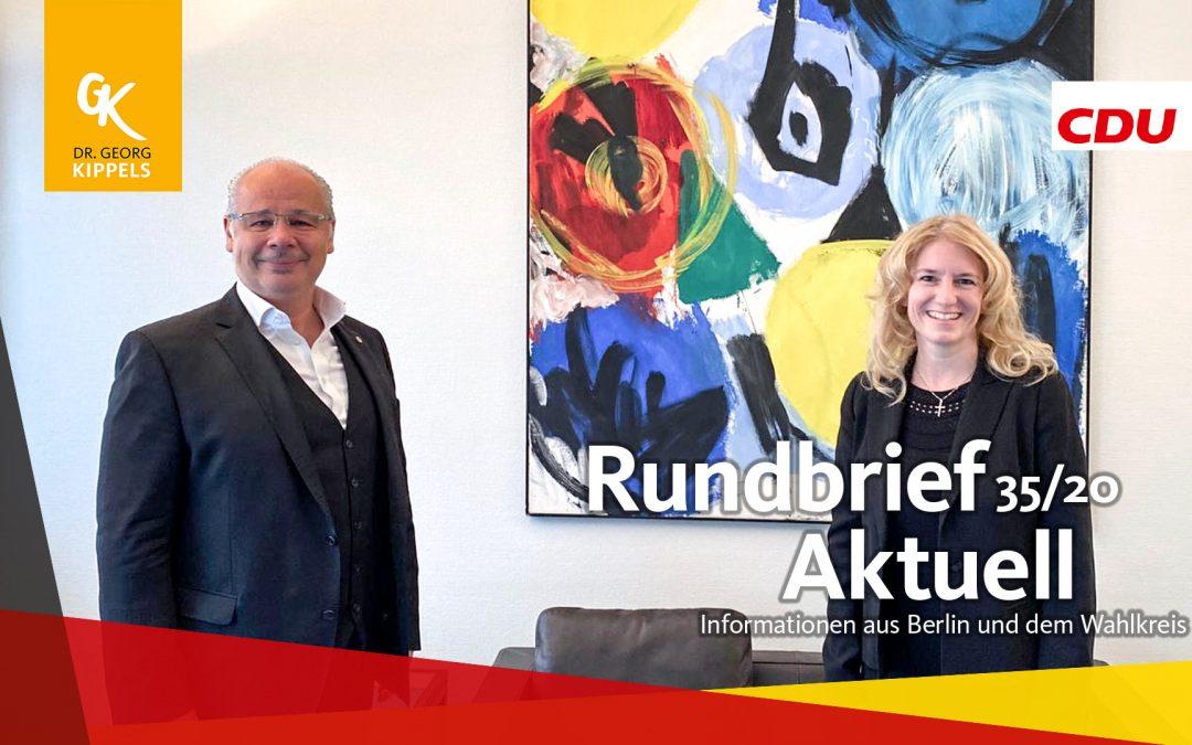 Rundbrief Aktuell 35/2020