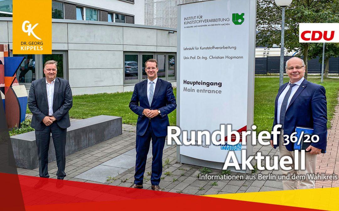 Rundbrief Aktuell 36/2020