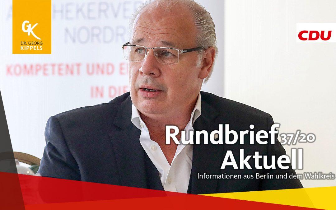Rundbrief Aktuell 37/2020