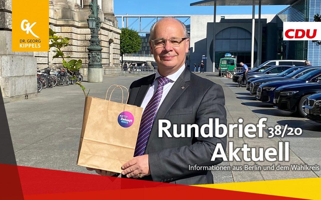 Rundbrief Aktuell 38/2020