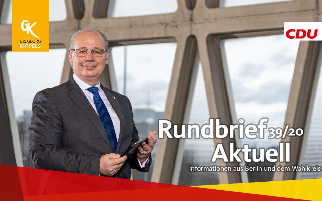 Rundbrief Aktuell 39/2020
