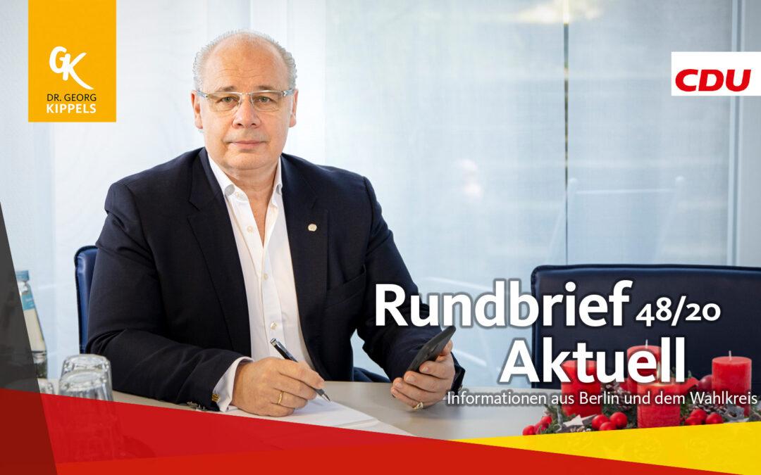 Rundbrief Aktuell 48/2020