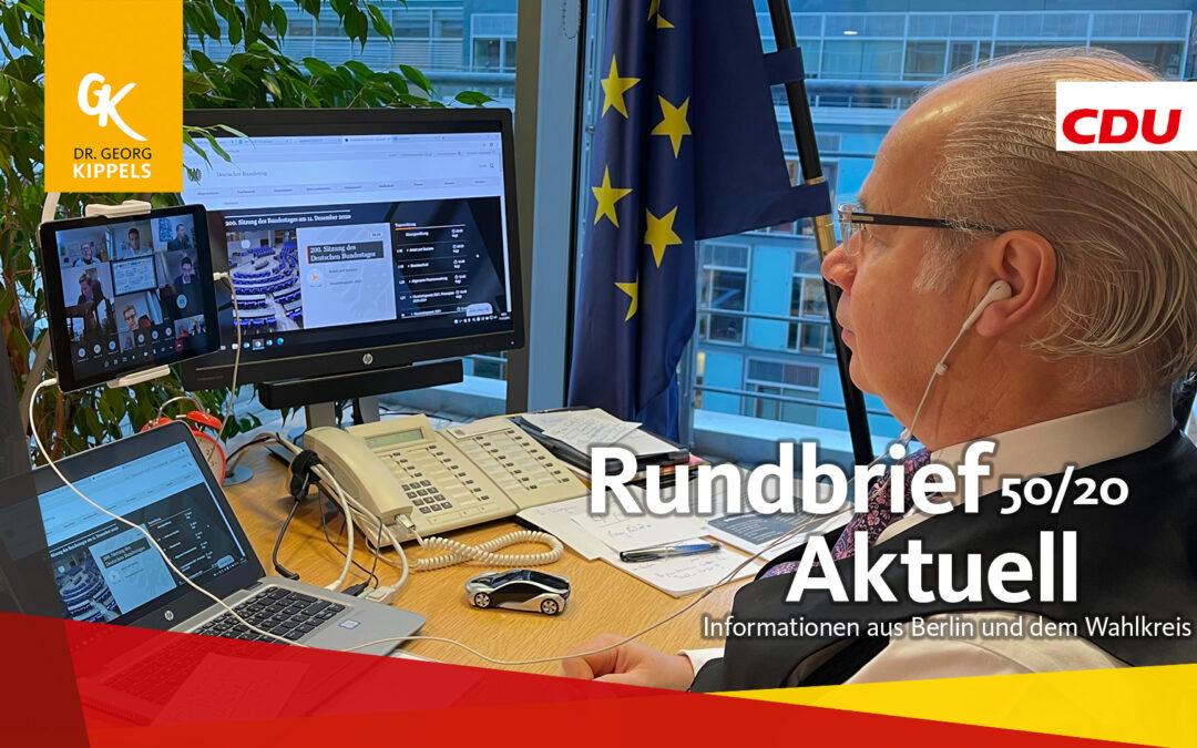 Rundbrief Aktuell 50/2020