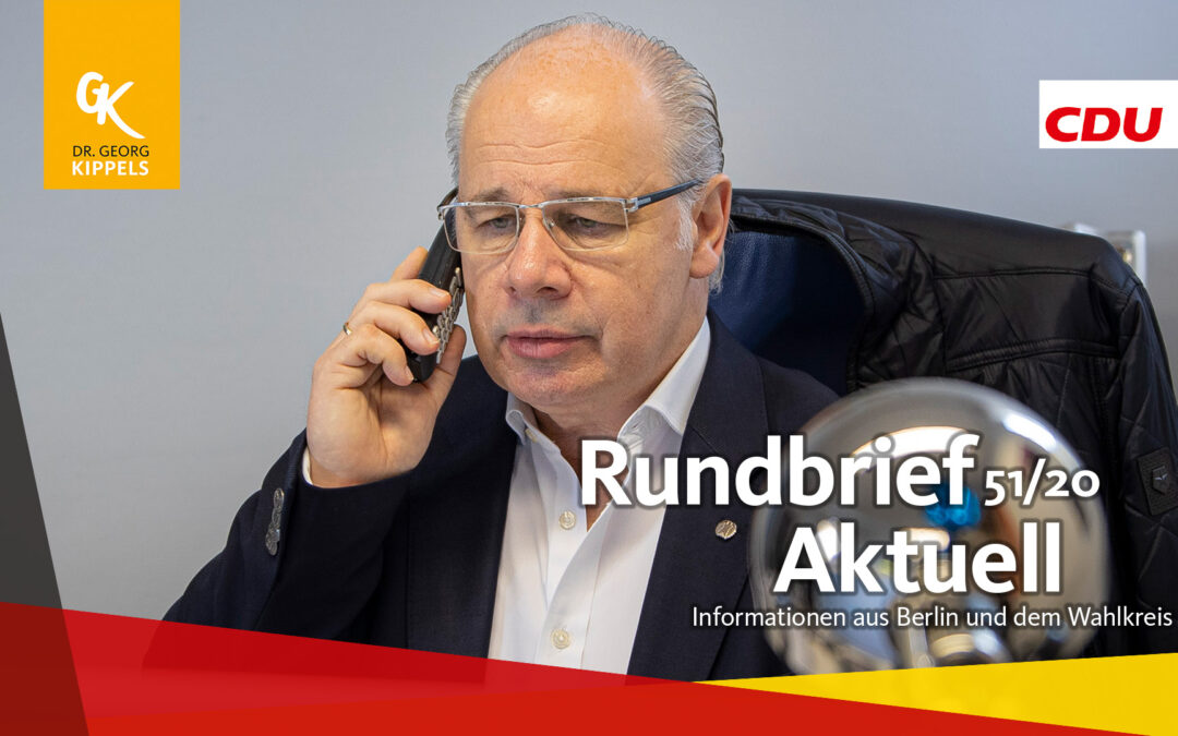 Rundbrief Aktuell 51/2020