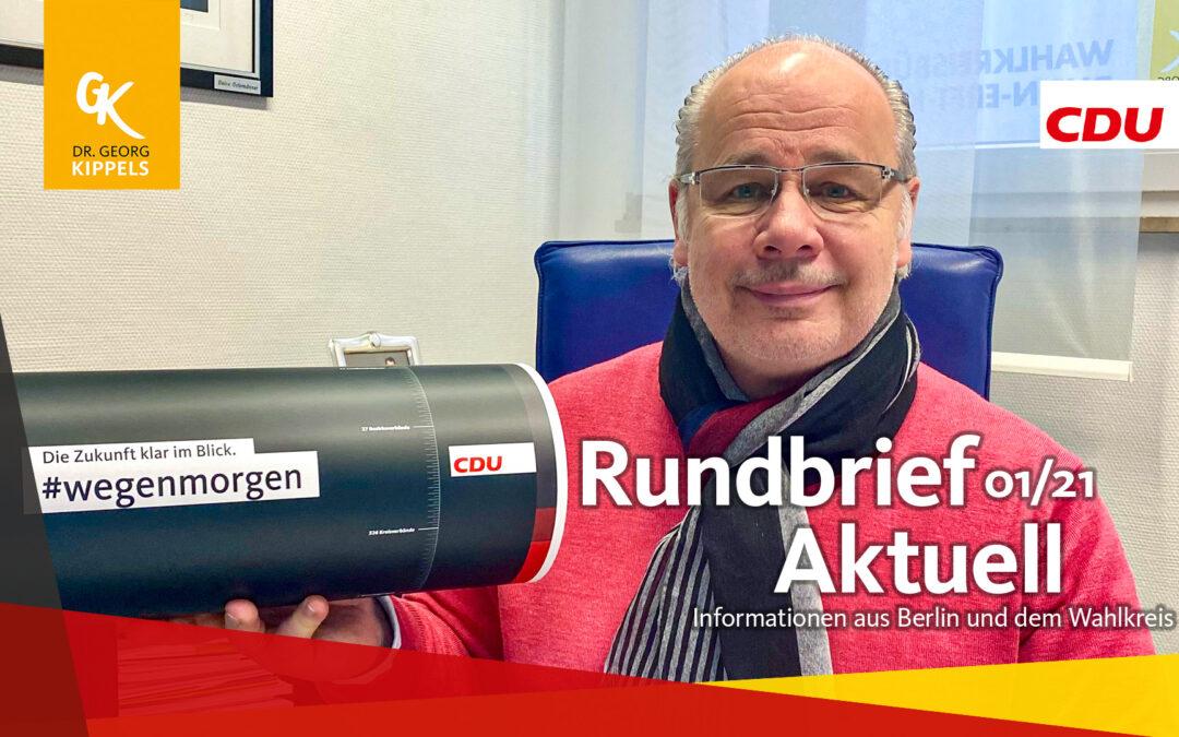 Rundbrief Aktuell 01/2021