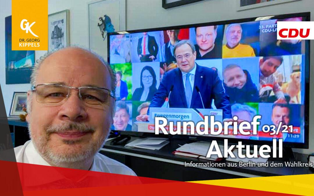 Rundbrief Aktuell 03/2021