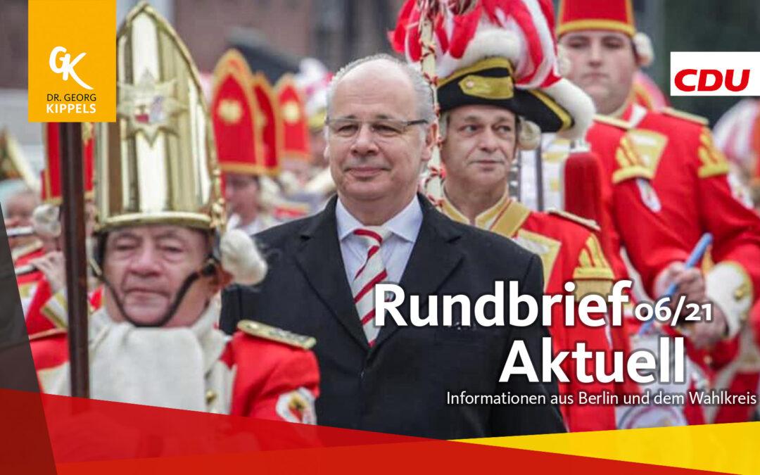 Rundbrief Aktuell 06/2021