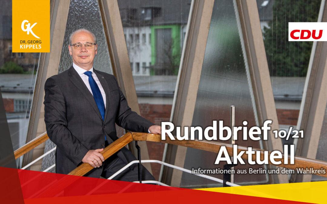 Rundbrief Aktuell 10/2021