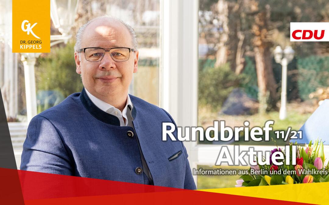 Rundbrief Aktuell 11/2021
