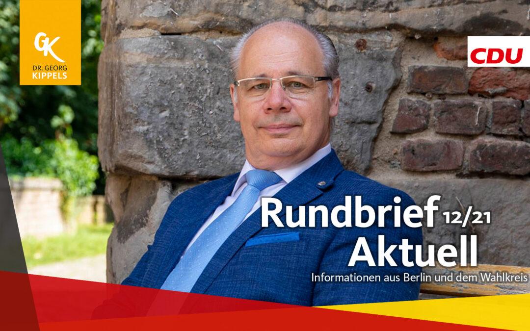 Rundbrief Aktuell 12/2021