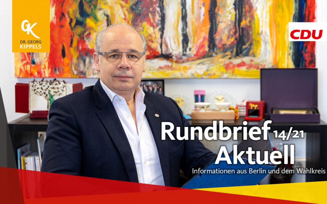 Rundbrief Aktuell 14/2021