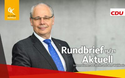 Rundbrief Aktuell 15/2021