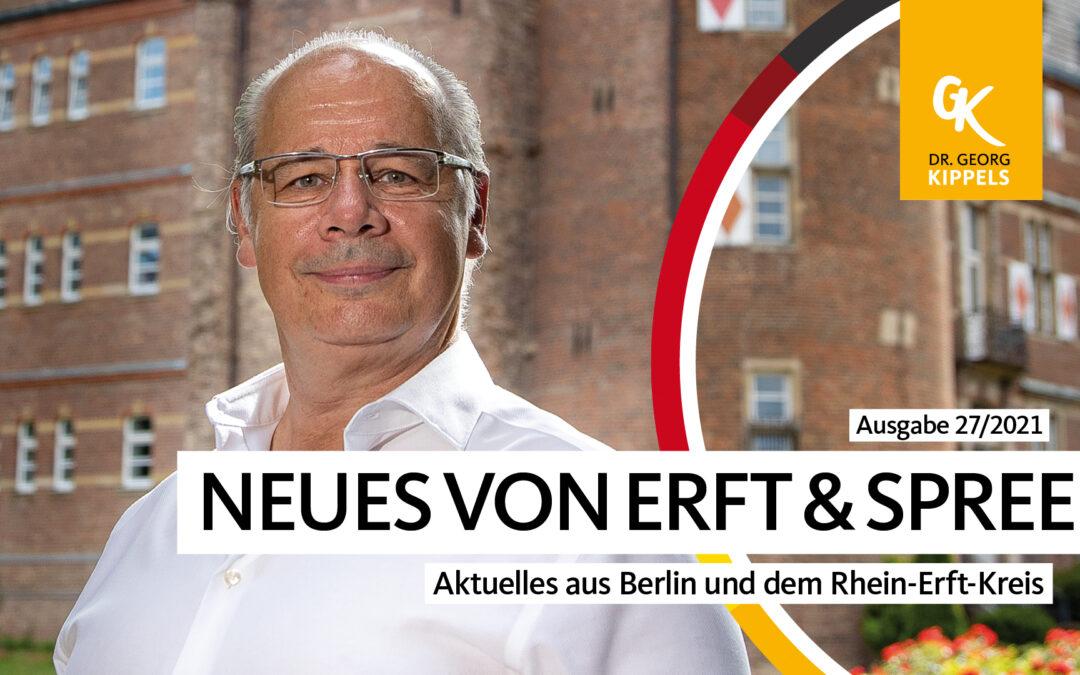 Neues von Erft & Spree – 27/2021