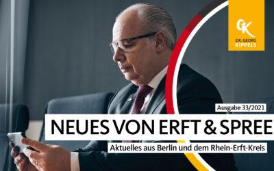 Neues von Erft & Spree – 33/2021