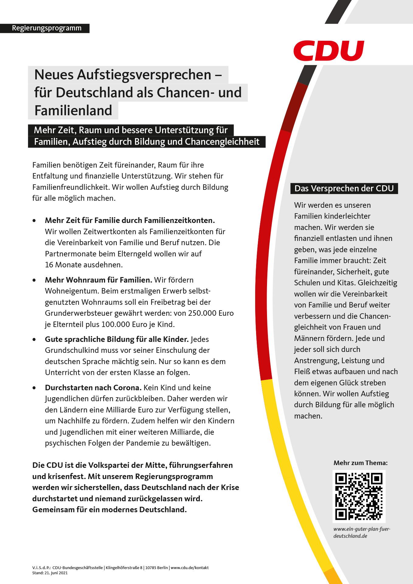 BTW21_CDU10Flugblaetter