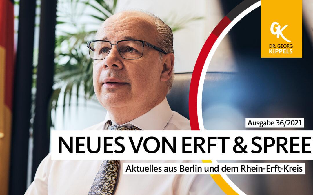 Neues von Erft & Spree – 36/2021